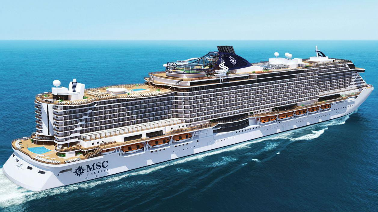 Statek MSC Seaside
